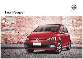 volkswagen fox 2016 thesamba com vw archives 2015 vw fox pepper sales brochure