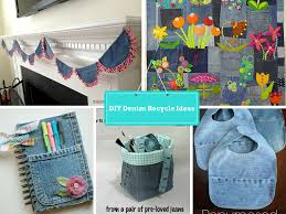 7 diy new ways to recycled clothing denim part 2 diy craft