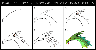 how to draw a dragon step by step daryl hobson artwork