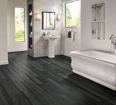 bathroom floor ideas vinyl armstrong luxury vinyl plank flooring lvp black wood look