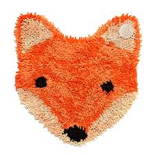 Rugs For Nurseries Rug Small Rug Bath Mat Fox Animal Kingdom Pinterest