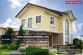 lancaster estates alexandra house model floor plan layout promo price
