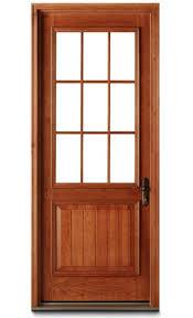 glass wood doors residential entry door