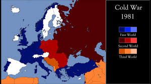 Cold War Europe Map by Cold War In Europe Every Year Youtube