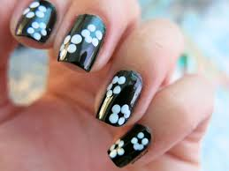 imagenes de uñas pintadas pequeñas tutorial wah nails book of downtown girls daisies margaritas