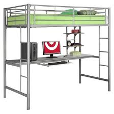 Loft Bed Without Desk Kids Workstation Bunk Bed Twin Metal Saracina Home Target