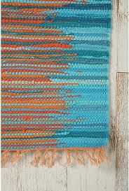 Turquoise Runner Rug Orange And Teal Rug Roselawnlutheran
