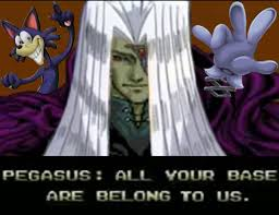 All Your Base Are Belong To Us Meme - all your base are belong to us toon support by ultimate lol on