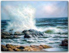 how to draw the ocean in brush strokes google search painting
