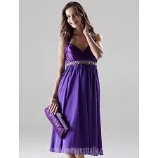 regency purple bridesmaid dresses knee length chiffon charmeuse bridesmaid dress regency plus