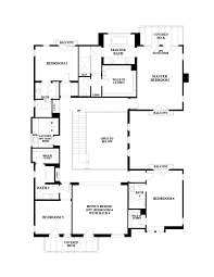 collection 6000 residence three floor plan at sea summit azure in
