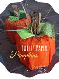 easy thanksgiving paper crafts autumn crafts toilet paper pumpkins easy and fun to make