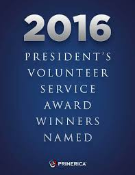 2016 president s volunteer service award winners named