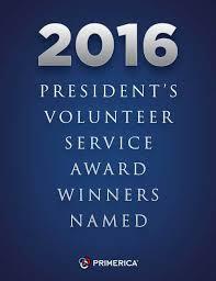 2016 president s volunteer service award winners named