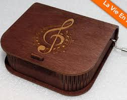 Engravable Music Box Wooden Music Box