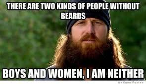 Meme Beard Guy - he who shaves his beard for a women deserves neither ummah com