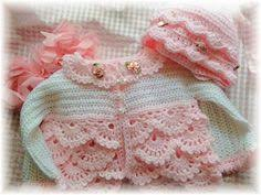 light pink sweater set nice set for new born baby cap jacket pants and shoes babies