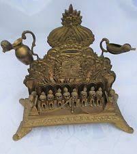 antique menorah collectible judaic menorahs ebay