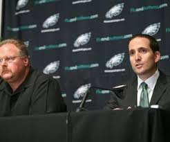 Andy Reid and Howie Roseman