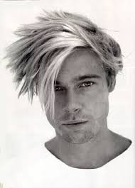 brad pitts haircut in seven brad pitt black white icons pinterest brad pitt young brad