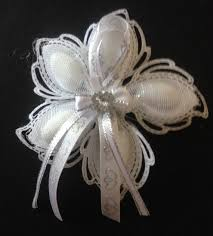 chagne wedding favors white and silver almond wedding flower favors made to