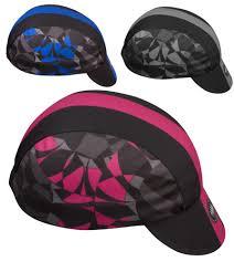 cap designer s mosaic designer cycling cap made in usa