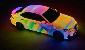 lexus new car colors this lexus is covered in over 40 000 programmable leds slashgear