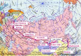 Moscow Russia Map Wild Russia Adventure Tours Along Trans Siberian Railway