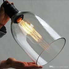Light Bulb Pendant Fixture by Retro Industrial Diy Ceiling Lamp Light Glass Pendant Lighting