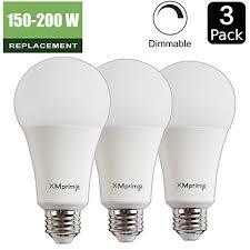 150 watt light fixture 22w 150 200 watt equivalent a21 dimmable led light bulb 2680