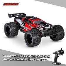 monster jam rc trucks subotech bg1508 1 12 2 4g 2ch 4wd racing rtr monster truck rc car
