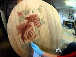 staining a table top decorative wood staining rose on table top by sawdust and embryos