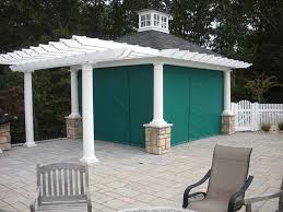 Roll Up Patio Screen by Custom Enclosures For Your Deck Porch Or Patio