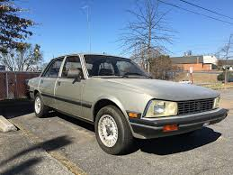 used peugeot cars for sale 1984 peugeot 505 s for sale in atlanta georgia usa