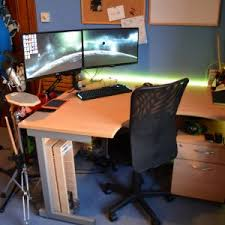 best desk for dual monitors fresh clean dual monitor desk inspiration dual monitor computer