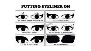 Eyeliner Meme - 17 photos that will only be funny to tomboys