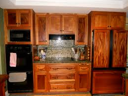 recessed panel door african mahogany kitchen cabinets with flat