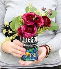 Tin Flower Vases 25 Recycled Tin Can Crafts And Projects