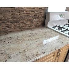 white kitchen cabinets with river white granite china prefinished river white faux granite countertops