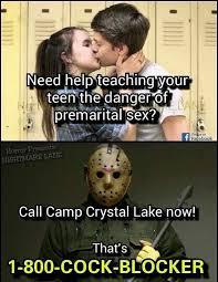 Jason Voorhees Memes - 1 800 cock blocker funny memes daily lol pics