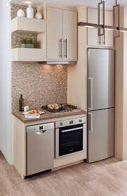 Furniture Kitchen Design Small Space Kitchen Designs With Light White And Green Cabinet