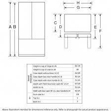 cabinet depth refrigerator dimensions consumer reports cabinet depth refrigerator dimensions nice ideas