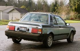 nissan pulsar sportback old parked cars two for tuesday 1984 datsun nissan pulsar nx