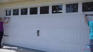 Garage Door Curb Appeal - improve curb appeal with garage door hardware mother daughter
