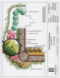 Townhouse Design Plans by Landscape Design For Small Yards Case Study Townhouse Front Yard