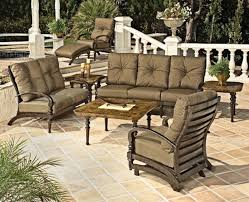 Ideas For Patio Furniture Decorating Porch Swing With Lowes Patio Cushions For Garden