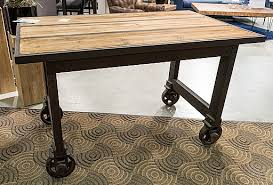 round table with wheels bar table with wheels side bedside regard to on decorating portable
