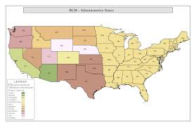 Blm Maps Understanding Blm Administrative Areas U2013 News From The Diggings