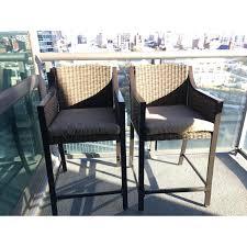 target metal balcony patio dining chair aptdeco