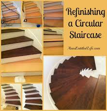 refinishing a circular staircase blog jpg